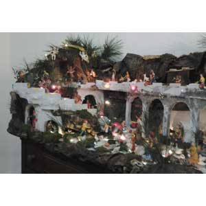 Christmas crib and Nativity scene pictures of the year 2017