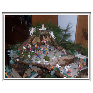 Christmas crib and Nativity scene pictures of the year 2014