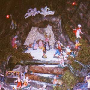 Christmas crib and Nativity scene pictures of the year 1996