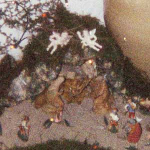 Christmas crib and Nativity scene pictures of the year 1997